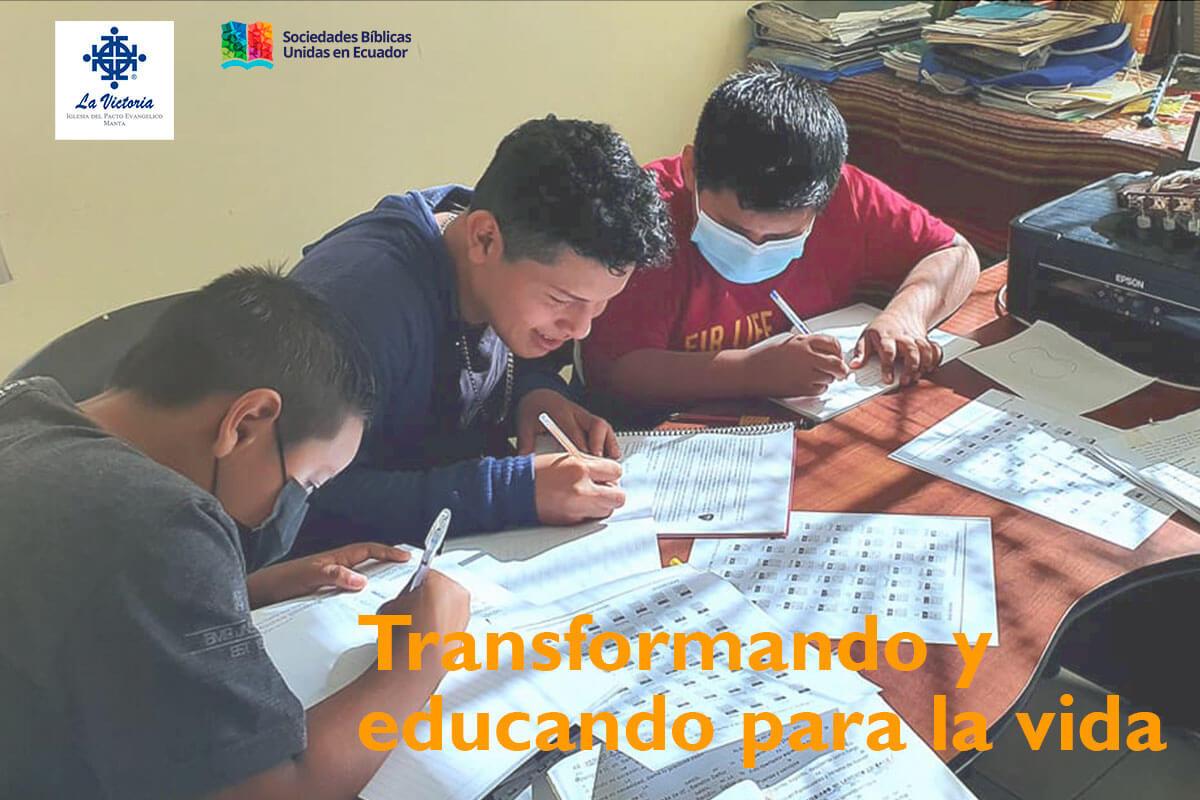 Transformando y educando para la vida plena | Transforming with education for a full life